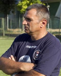Claudio Coppeta, allenatore della Bakery Pallacanestro Piacentina