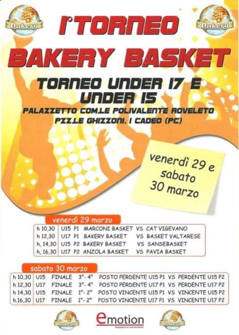 1° Torneo Bakery Basket