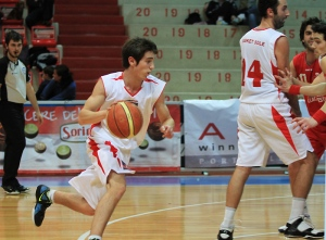 Davide Avanzi, playmaker del Basket Sole