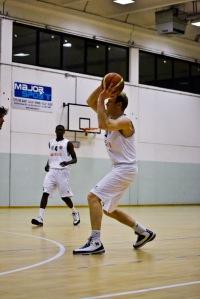 Marco Sambugaro, guardia-ala del Piacenza Basket Club