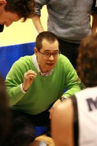 Simone Morandi, allenatore della Controlgom Monticelli Brusati