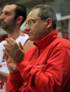 Lorenzo Martinelli, allenatore del Basket Sole
