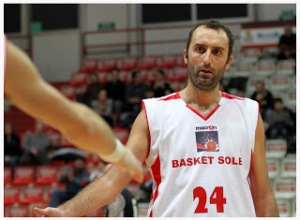 Andrea Arata, capitano del Basket Sole
